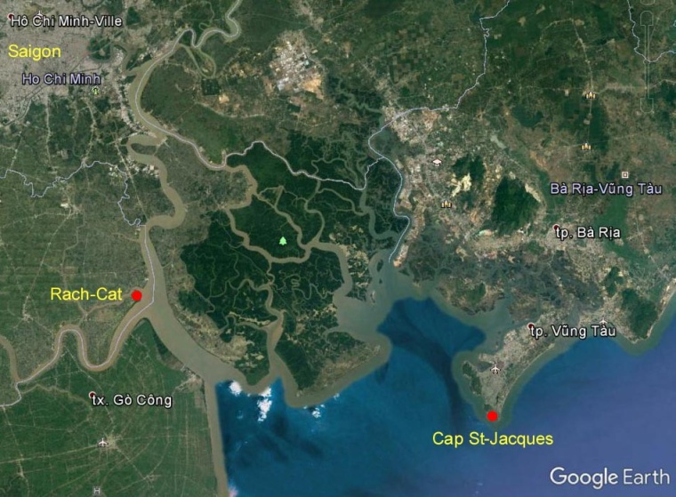 Vung Tau Google Earth
