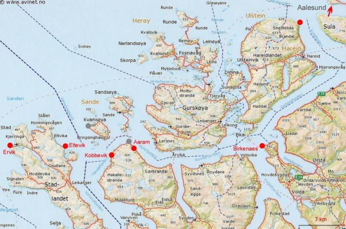 6 Carte Maaly Aalesund