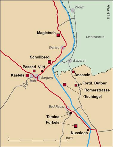 Sargans-carte