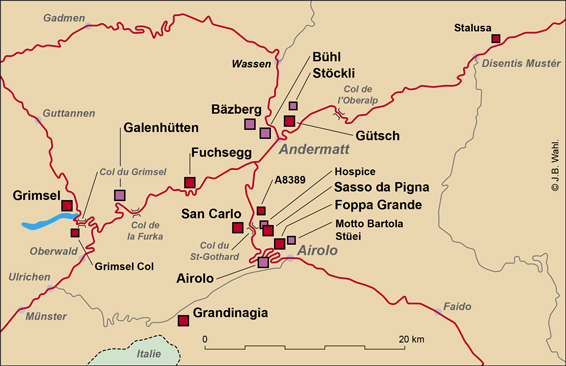 St-Gothard-carte